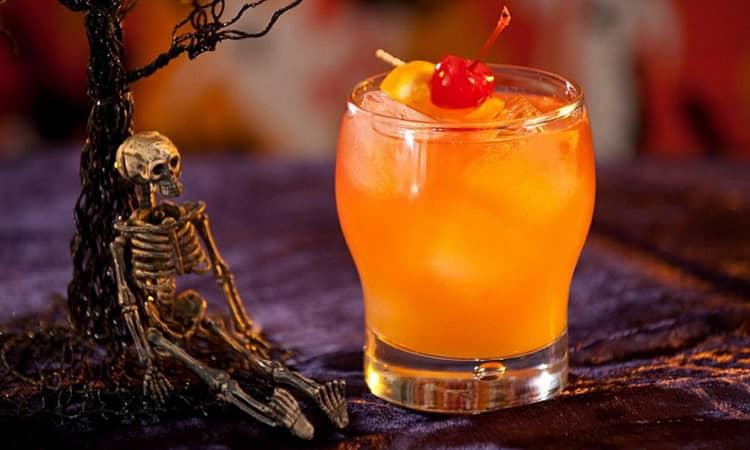 коктейль зомби рецепт с персиком