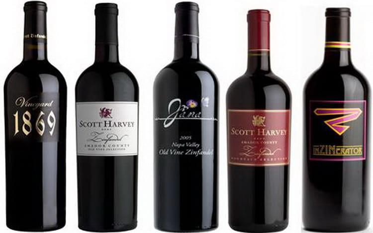 Виды вина zinfandel