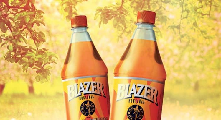 сколько процентов алкоголя в блейзере