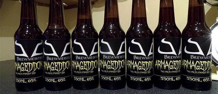 Самый крепкое пиво armageddon