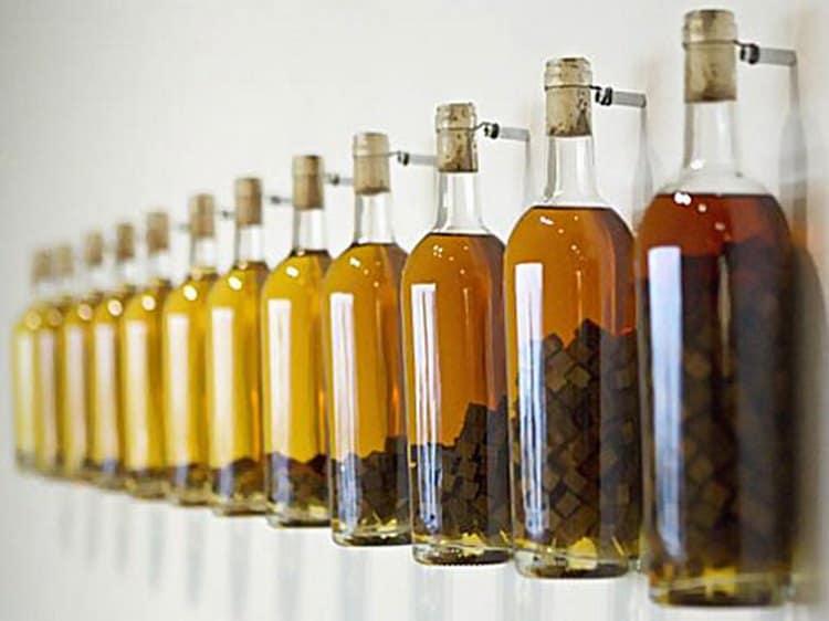 От количества используемой щепы будет зависеть и вкус, и цвет, и аромат напитка.