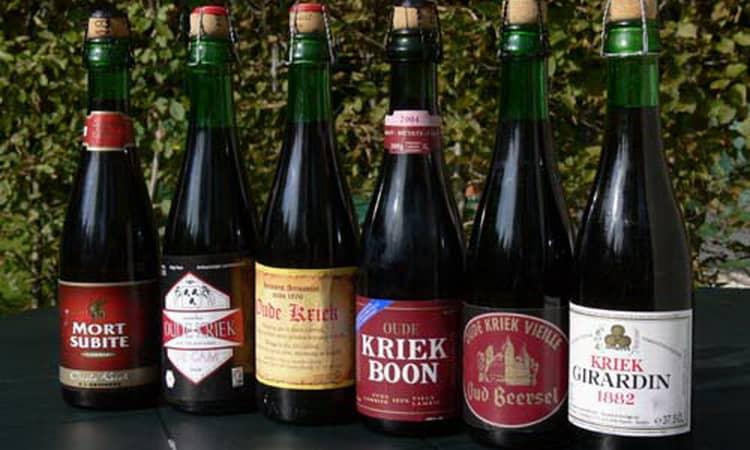 Разновидности бельгийского вишневого пива kriek