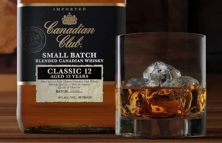 Как и с чем подавать whisky canadian club