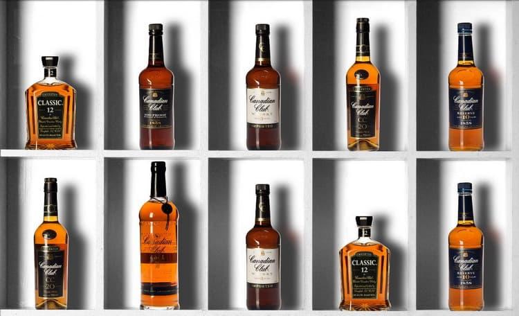 Наслаждайтесь отличным виски канадиан клаб