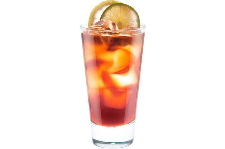 алкогольный коктейль Кокосовая кола