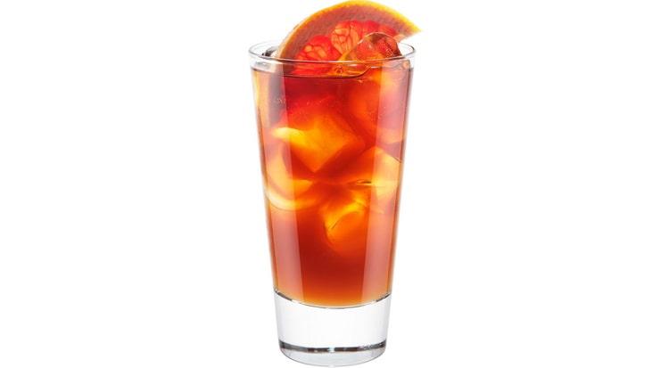 рецепт коктейля с колой и ликером из грейпфрута