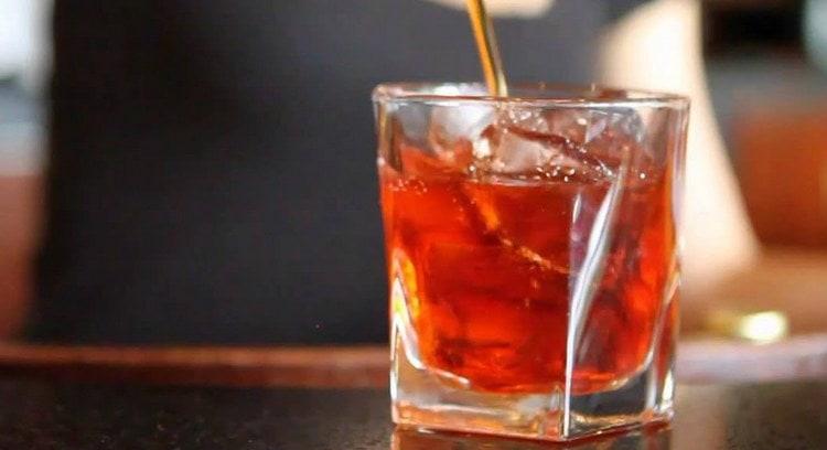 Состав коктейля Американо можно немного менять в зависимости от ваших вкусовых предпочтений.