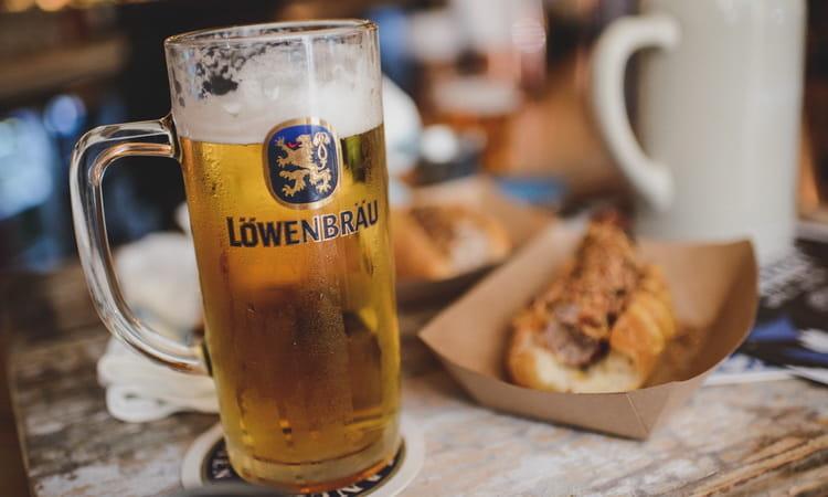Как и с чем подавать пиво lowenbrau dunkel