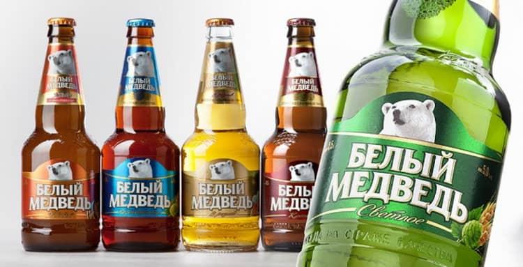 безалкогольное пиво белый медведь и все остальные представители