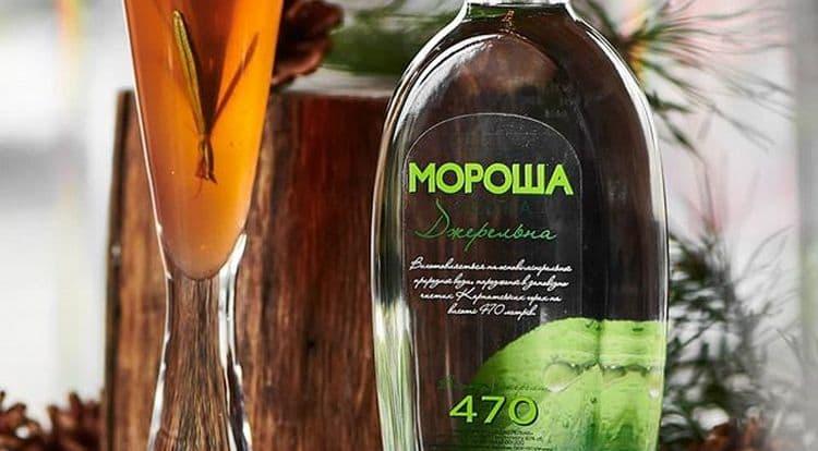 Отличным вкусом отличается водка Мороша Джерельная.