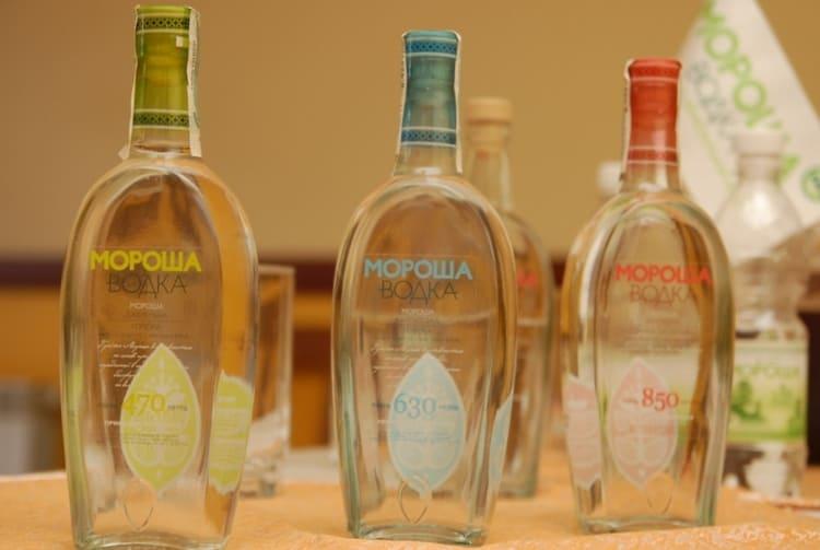 Узнайте также, кто производитель водки Мороша.