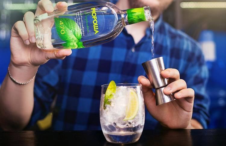 Эта водка отлично подходит и для создания коктейлей.
