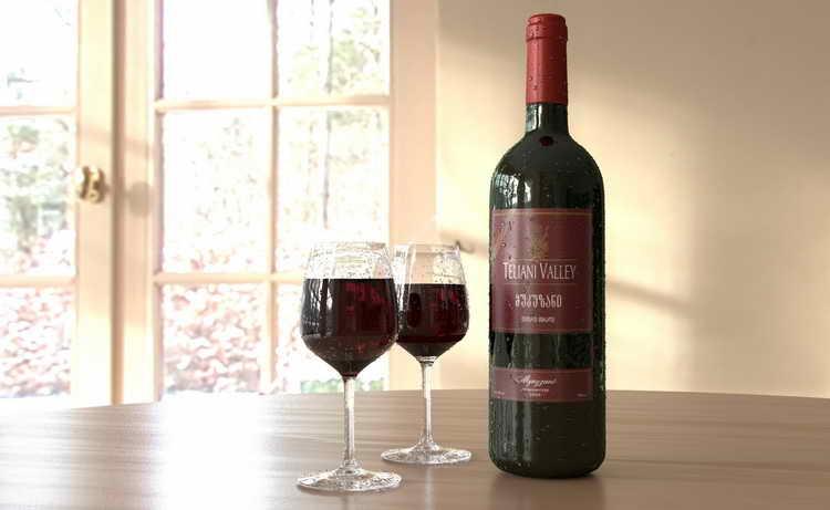 как подавать вино мукузани