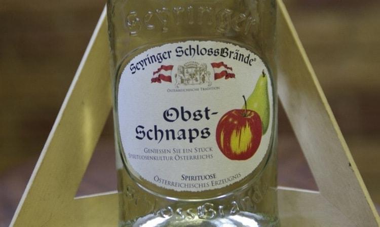 Немецкая водка обычно производится на основе фруктовой или зерновой браги.