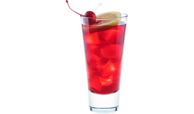 Рецепт коктейля с кока колой и ликером из вишни