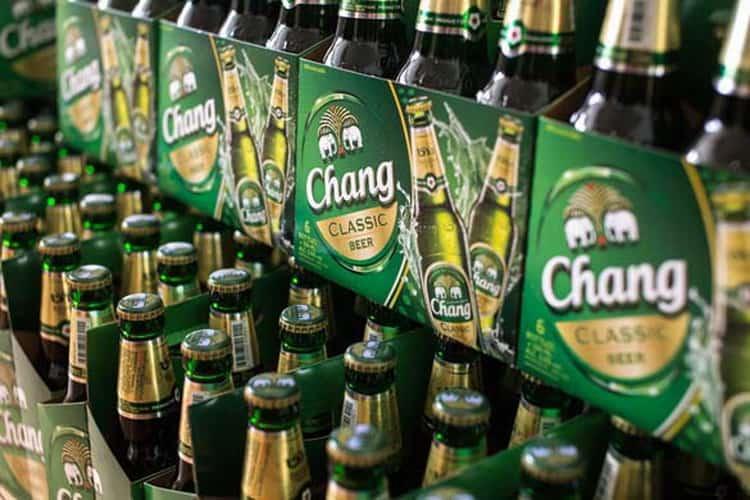 Как подавать пиво Чанг