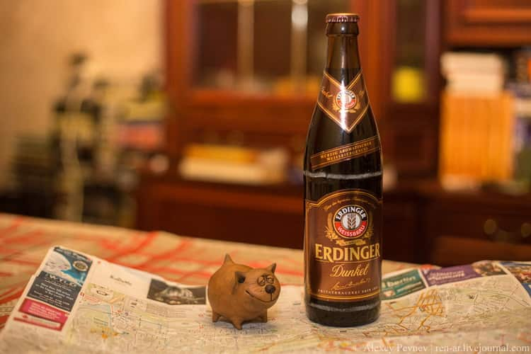пиво erdinger weissbier