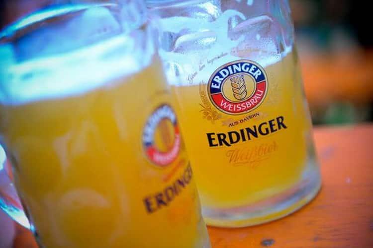 Как подавать пиво эрдингер