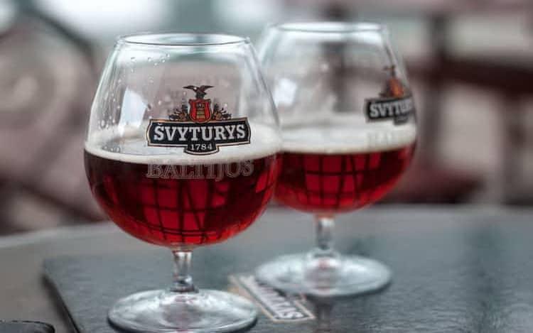 Как подавать швитурис экстра и другие виды литовского пива