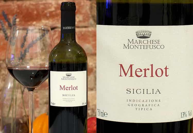 С чем подавать мерло вино