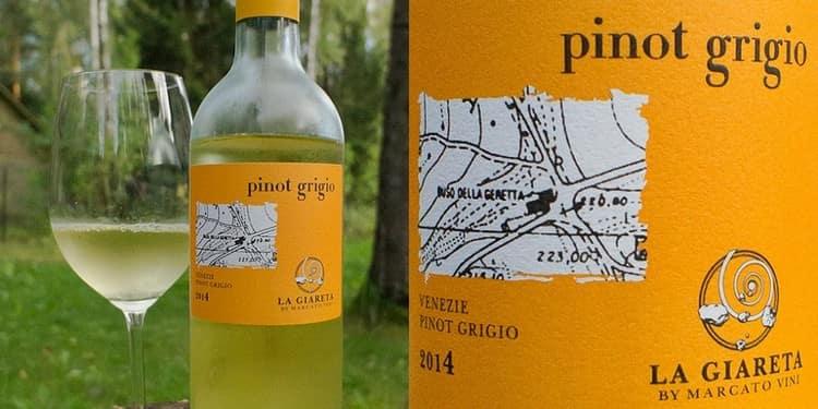 Пино гриджио это всегда только белое либо розовое вино, но ни в коем случае не красное.