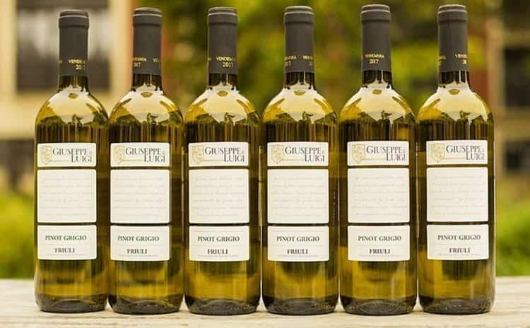 Вино pinot grigio в принципе не сложно приобрести в наших магазинах.