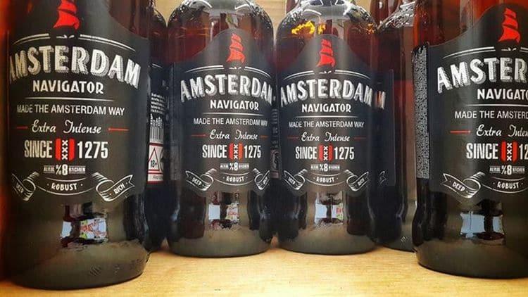 Пиво Амстердам производится по старинной голландской технологии.