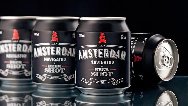 Купить пиво Amsterdam можно как в бутылке, так и в банке.