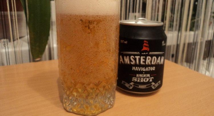 Узнайте, сколько градусов в пиве Амстердам.