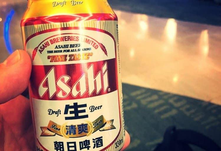 Пиво Асахи Драфт тоже является довольно популярным.