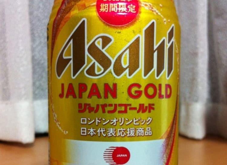 А вот золотой бленд Асахи.