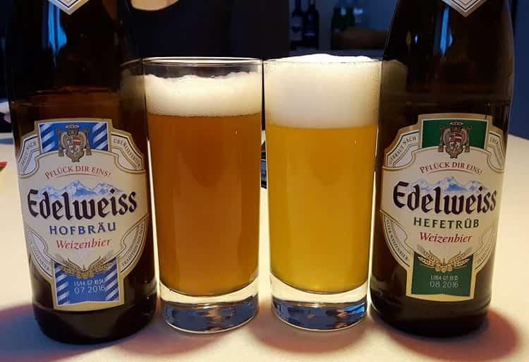 Как подавать пиво Эдельвейс