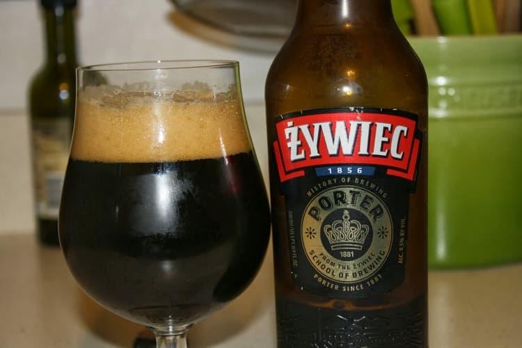 А вот польское пиво этого сорта.