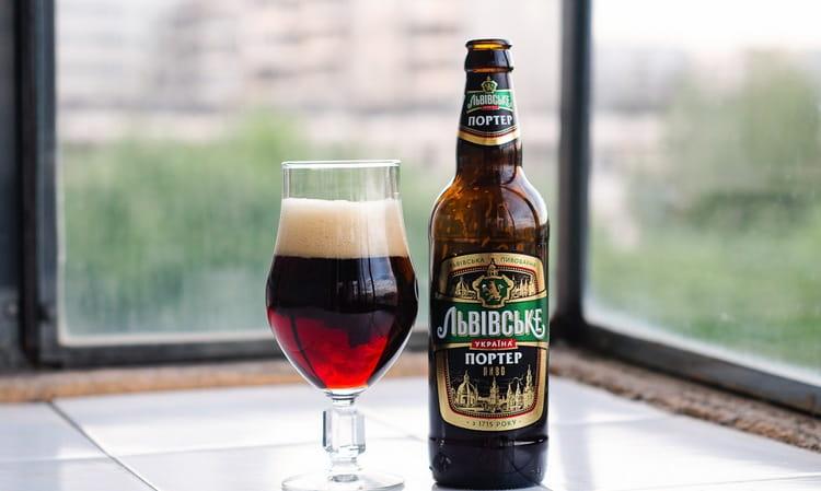 Львовское пиво также представлено сортом портер.