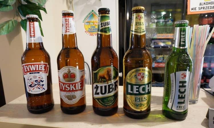 Какое пиво делают в польше