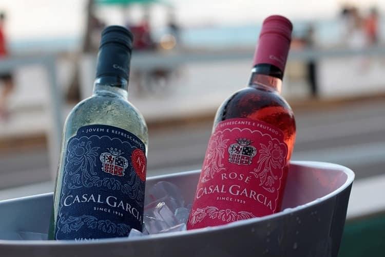 Чудные вина от Casal Garsia.