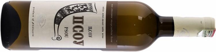 Среди белых вин отличается хорошим вкусом Псоу.