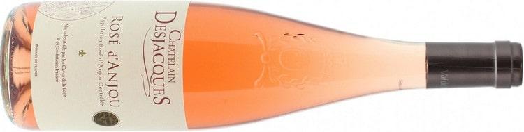 А вот чудный напиток для любителей розовых вин.