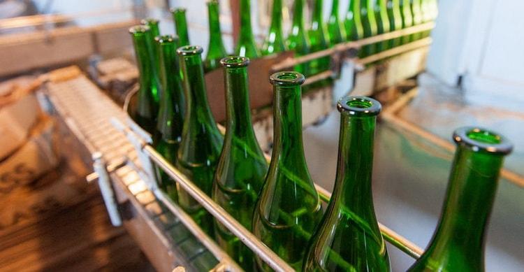 Как производят советское шампанское