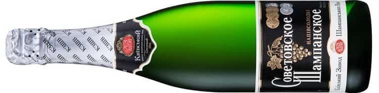 оветское шампанское: производитель
