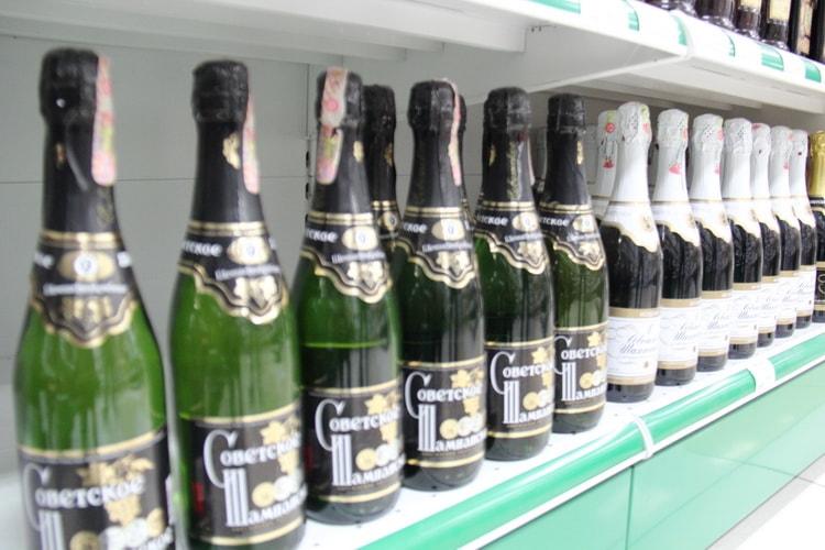 Как выбрать советское шампанское