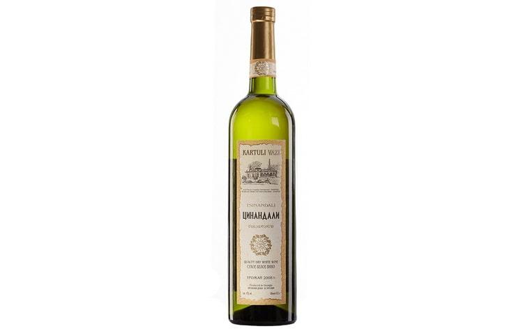 Вино Цинандли которое любил сталин