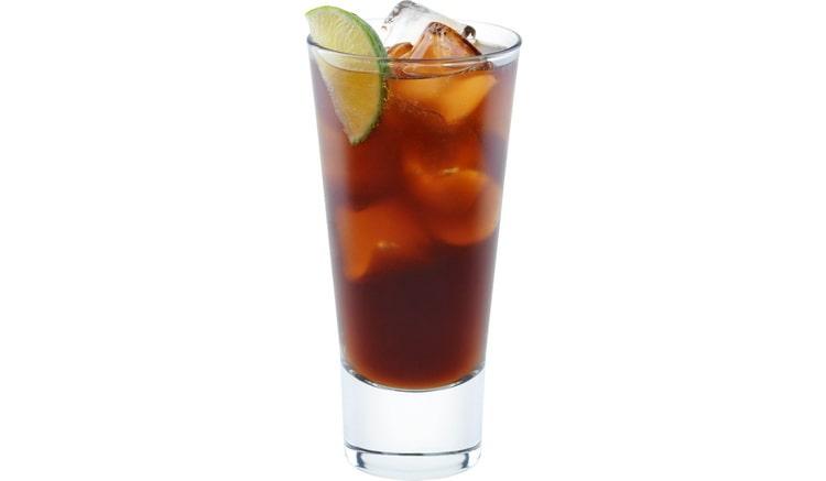 коктейль с кока колой алкогольный Текила батанга