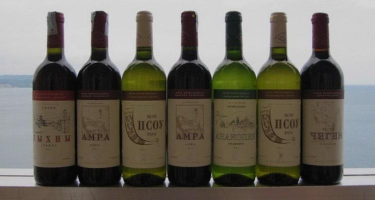 псоу какие виды вина