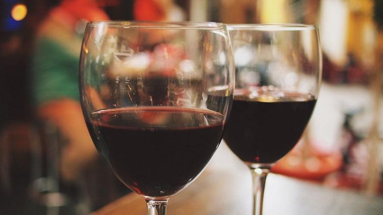 вино псоу красное полусладкое