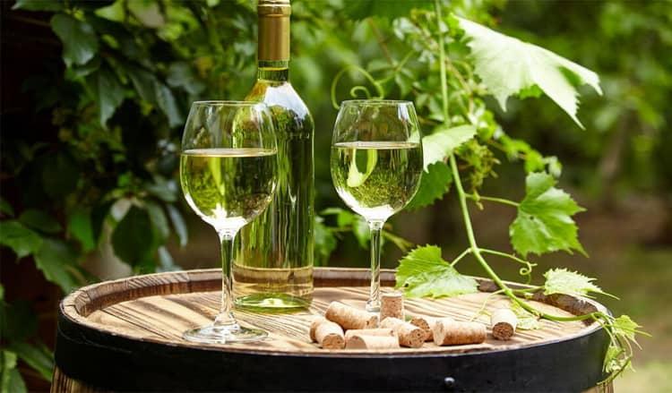 Как подавать вино ркацители грузия