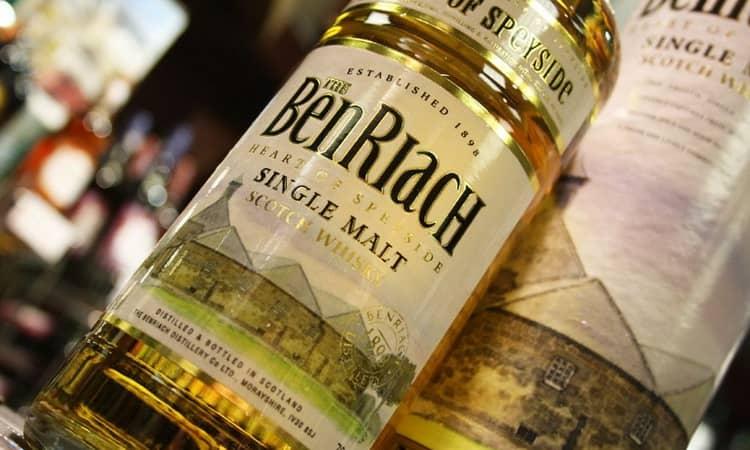 Особенности виски benriach