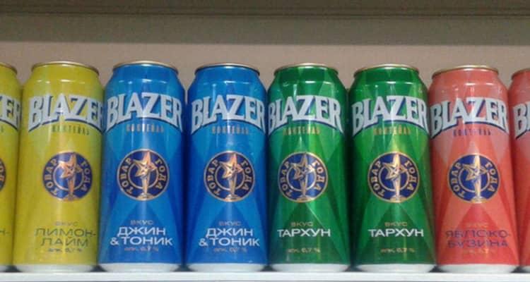 Как пить и чем закусывать напиток blazer