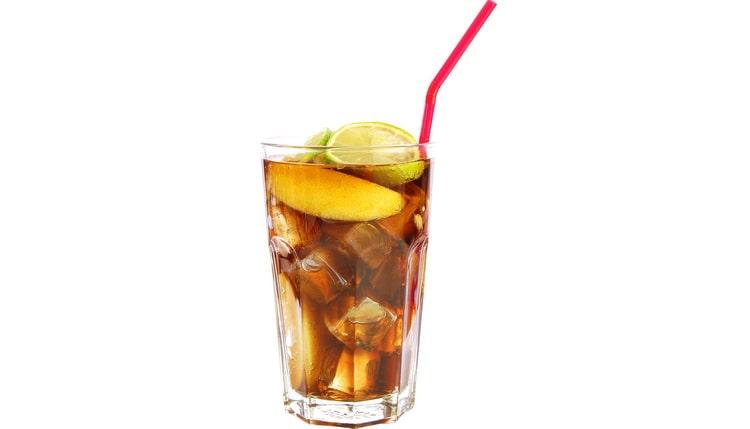 Классический рецепт коктейля мартини с колой