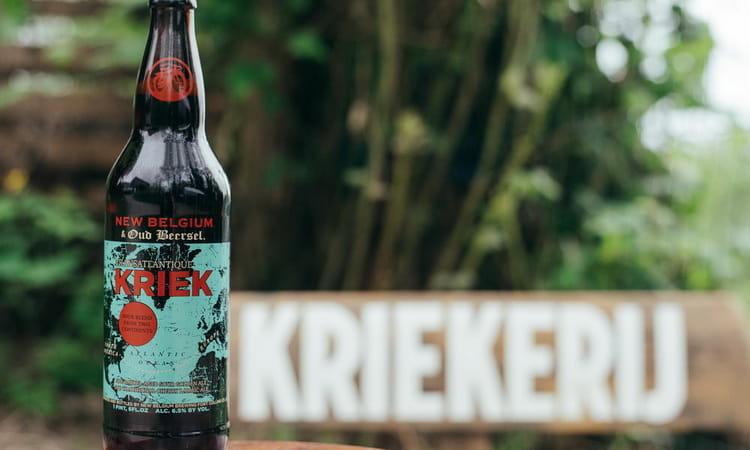 Пейте и наслаждайтесь пивом Kriek
